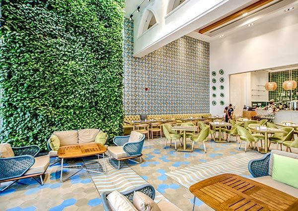 酒店植物墙
