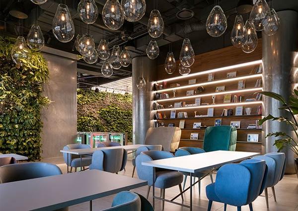 办公室室内垂直绿化